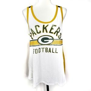 Green Bay Packers NFL Tank Top Size Large
